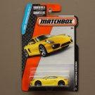 Matchbox 2015 MBX Adventure City '14 Porsche Cayman (yellow)