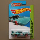 Hot Wheels 2015 HW Workshop '70 Plymouth Superbird (teal)