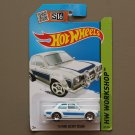 Hot Wheels 2015 HW Workshop '70 Ford Escort RS1600 (white) (SEE CONDITION)