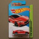 Hot Wheels 2015 HW Workshop Tesla Model S (red)