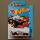 Hot Wheels 2015 HW City Mad Manga (black)