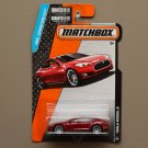 Matchbox 2015 MBX Adventure City Tesla Model S (red)