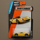 Matchbox 2015 MBX Adventure City Ford GT-40 (yellow)