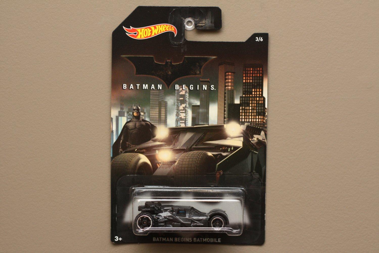 c063fd70c962b Hot Wheels 2015 Batman Series Batman Begins Batmobile (The Tumbler)