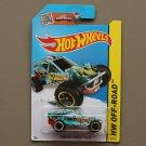 Hot Wheels 2015 HW Off-Road Team Hot Wheels 4x4 Corkscrew Buggy (turquoise) (Treasure Hunt)