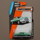 Matchbox 2015 MBX Adventure City '69 Cadillac Deville Sedan (emerald green)