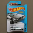 Hot Wheels 2015 HW City Back To The Future Delorean Time Machine (Hover Mode)