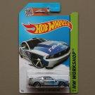 Hot Wheels 2015 HW Workshop Custom '12 Ford Mustang (silver)