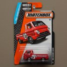 Matchbox 2015 MBX Adventure City '66 Dodge A100 (red)