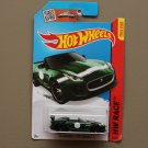 Hot Wheels 2015 HW Race '15 Jaguar F-Type Project 7 (green) (SEE CONDITION)
