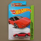 [PACKAGING ERROR] Hot Wheels 2015 HW Workshop '90 Acura NSX (red)
