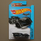 Hot Wheels 2015 HW City Batman Arkham Asylum Batmobile (black)