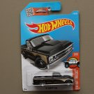 Hot Wheels 2016 HW Hot Trucks '67 Chevy C10 (black) (SEE CONDITION)