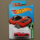 Hot Wheels 2016 HW Green Speed Tesla Roadster (red) (SEE CONDITION)