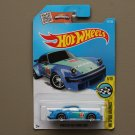 Hot Wheels 2016 HW Speed Graphics Porsche 934 Turbo RSR (blue) (SEE CONDITION)