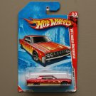 Hot Wheels 2010 Race World Volcano '64 Lincoln Continental (red)