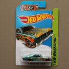 Hot Wheels 2015 HW Workshop '74 Brazilian Dodge Charger (teal)