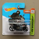 Hot Wheels 2015 HW Workshop Ducati 1199 Panigale (grey) (SEE CONDITION)