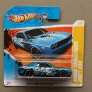 Hot Wheels 2011 HW Premiere Dodge Challenger Drift Car (blue)