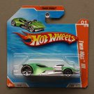 Hot Wheels 2010 Track Stars Twin Mill III (green)