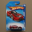 Hot Wheels 2010 Nightburnerz 24/Seven (red)
