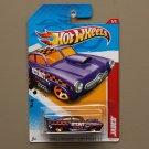 Hot Wheels 2012 Thrill Racers City Stunt Jaded (purple)
