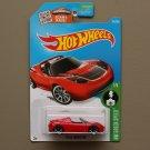 Hot Wheels 2016 HW Green Speed Tesla Roadster (red)