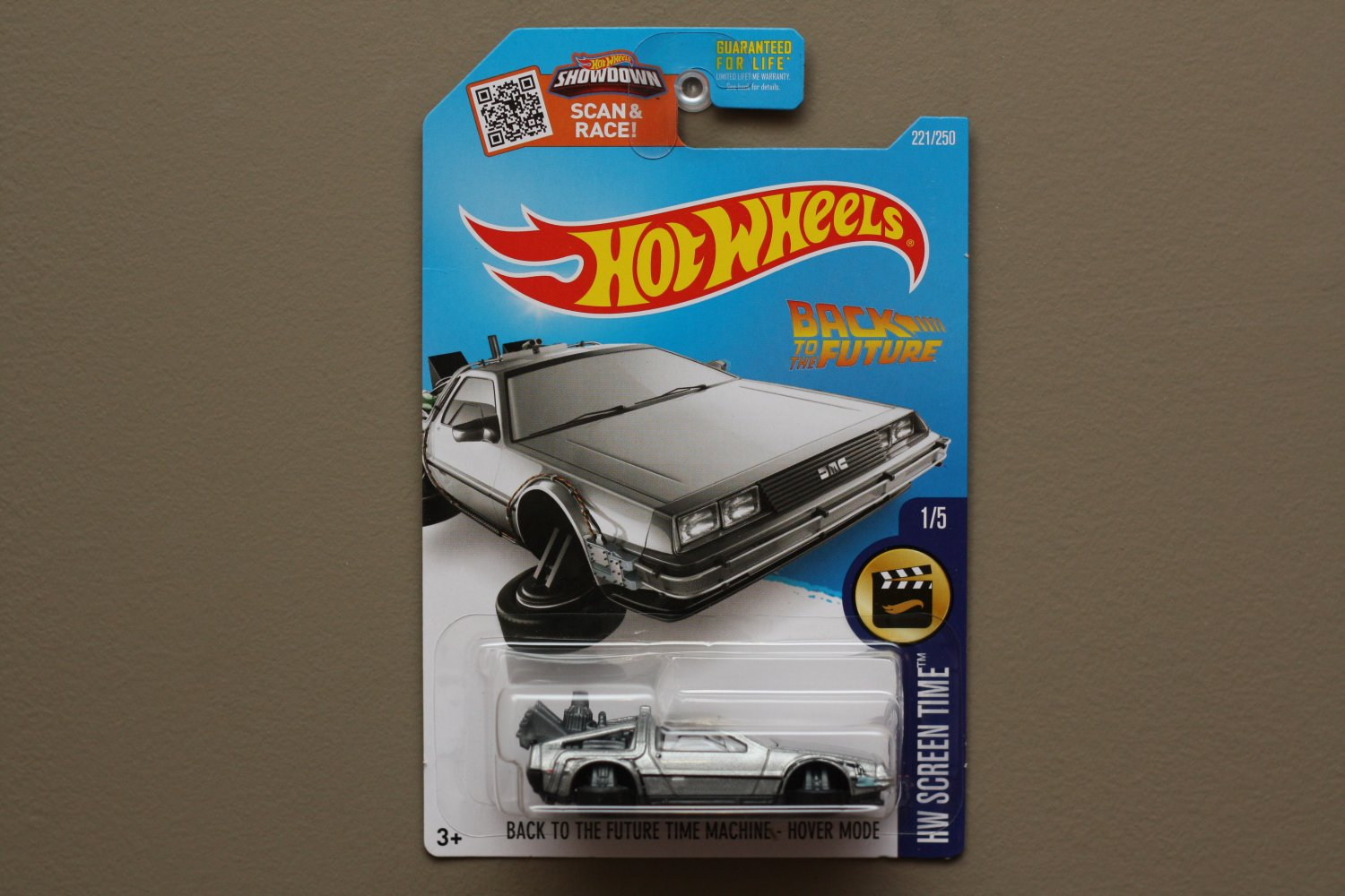 Hot Wheels 2016 Hw Screen Time Back To The Future Delorean