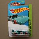 Hot Wheels 2015 HW Workshop '70 Plymouth Superbird (teal)