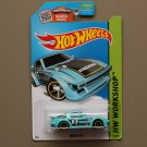 [REVERSED INTERIOR ERROR] Hot Wheels 2015 HW Workshop Mazda RX-7 (turquoise - Kmart Excl.)