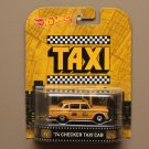Hot Wheels 2015 Retro Entertainment '74 Checker Taxi Cab (Taxi)