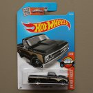 Hot Wheels 2016 HW Hot Trucks '67 Chevy C10 (black)