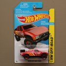 Hot Wheels 2015 HW Off-Road Toyota Off-Road Truck (red)
