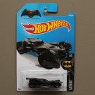 Hot Wheels 2016 Batman Batmobile (black) (Batman vs Superman Dawn Of Justice) (SEE CONDITION)