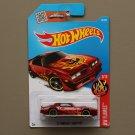 Hot Wheels 2016 HW Flames '77 Pontiac Firebird (red)