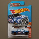 Hot Wheels 2016 HW Hot Trucks '15 Ford F-150 (blue)