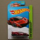 Hot Wheels 2015 HW Workshop Lamborghini Veneno (red) (SEE CONDITION)