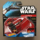 Hot Wheels 2015 Star Wars Ships Poe's X-Wing Fighter (Black Leader) (The Force Awakens)