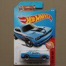 Hot Wheels 2016 Then And Now '15 Dodge Challenger SRT Hellcat (blue)