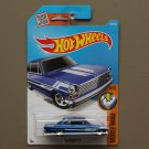 Hot Wheels 2016 Muscle Mania '63 Chevy II (blue)