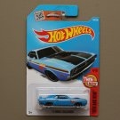 Hot Wheels 2016 Then And Now '71 Dodge Challenger (blue)