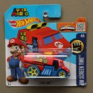 Hot Wheels 2016 HW Screen Time Cool-One (red) (Super Mario) (SEE CONDITION)