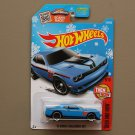 Hot Wheels 2016 Then And Now '15 Dodge Challenger SRT Hellcat (blue) (Snowflake)