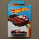 Hot Wheels 2016 HW Digital Circuit '11 Corvette Grand Sport (red) (Treasure Hunt)