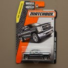 Matchbox 2016 MBX Construction '14 Chevy Silverado (grey)