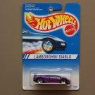 Hot Wheels 1994 Model Series Lamborghini Diablo (mauve) (SEE CONDITION)