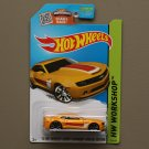 Hot Wheels 2015 HW Workshop '13 Hot Wheels Chevy Camaro Special Edition (yellow)