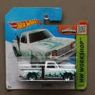 Hot Wheels 2015 HW Workshop '78 Dodge Li'l Red Express Pickup Truck (white) (SEE CONDITION)