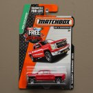 Matchbox 2015 MBX Explorers '14 Chevy Silverado 1500 (red)