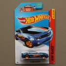 Hot Wheels 2015 HW Race '13 COPO Camaro (blue) (SEE CONDITION)